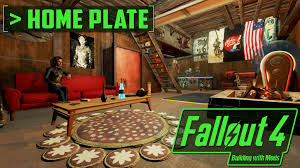 Home Plate by The Most Aesthetic Homeplate Building With Mods Fallout 4