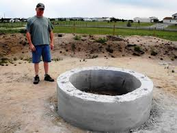 Concrete Firepits Concrete Pit Molds Ring Fireplaces Firepits Building