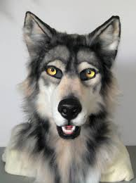Werewolf Mask Realistic Grey Wolf Mask By Maewynshadowtail On Deviantart