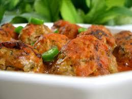 plat cuisiné rapide recette boulettes de sardine à la sauce tomates recette plat