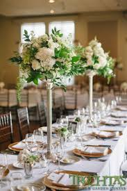 wedding flowers for tables table centerpieces that white flowers but