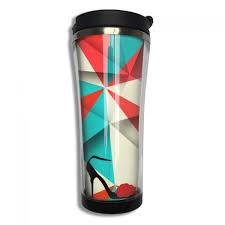 artistic coffee online shop womans high heel shoes vector art coffee mug artistic