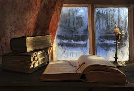 books winter winter time still life candle wallpapers