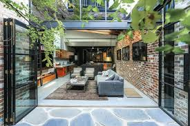 Garages With Living Space by Old Garage With Heritage Façade Finds New Life As A Fabulous