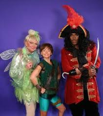 Peter Pan And Wendy Halloween Costumes by Kelly Ripa With The Real Long Island Medium Theresa Caputo Kelly
