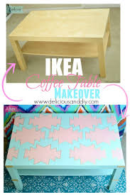 ikea coffee table makeover u2013 delicious and diy