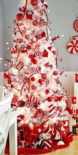 Decorate Christmas Tree Like Department Stores by Christmas Tree Decorations Red U0026 White Christmas Diy Food