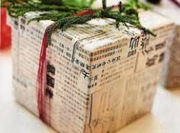 newspaper wrapping paper top 10 eco friendly gift wrap ideas ecobnb