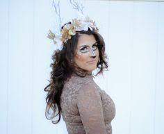 Deer Antlers Halloween Costume Deer Costume Diy Costume