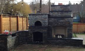 Pizza Oven Outdoor Fireplace by Fairbairn Family Wood Fired Outdoor Brick Pizza Oven And Outdoor
