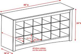 shoe storage cubbie bench walmart canada