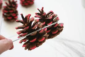 pine cone wreath tutorial u2013 apartment apothecary