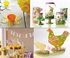 Easter Decorations Paper by Table Decorations Easter U2013 33 Creative Easter Table Decorations