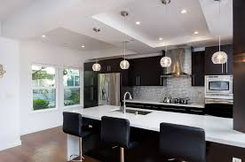 Kitchen Rail Lighting Mission Style H Andrail With Led Lights Kitchen Modern And