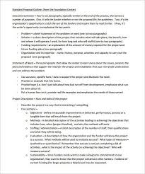 project proposal template word project proposal template