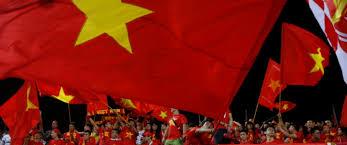 Viet Nam Flag Vietnam Zwischen Hammer Und Sichel Und Burger King Trend At