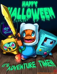 image happy halloween adventure time and pokemon mashup jpg