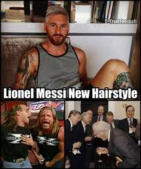 Memes De Lionel Messi - memes graciosos los incre祗bles memes del nuevo look de lionel