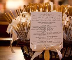 Unique Wedding Programs Creative And Unique Wedding Programs That We Adore