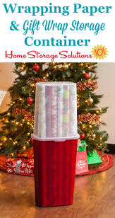 Wrap Storage Wrapping Paper Gift Wrap Storage Container Ideal For Rolls