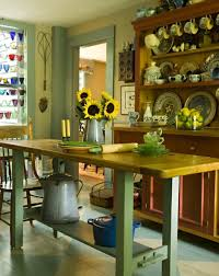 kitchen island ideas for old houses old house restoration this narrow antique table creates a simple island workspace with a vintage vibe