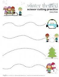 10 best cut and trace practice images on pinterest fine motor