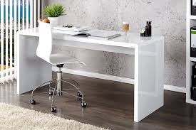White High Gloss Office Desk Enzo White High Gloss Computer Pc Home Executive Study Office