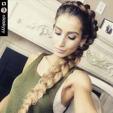 braided hair styles for a rounded face type 60 super chic hairstyles for long faces to break up the length