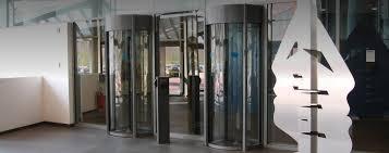 glass security doors circlelock portal high security mantrap boon edam us