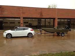 veloster as a tow vehicle