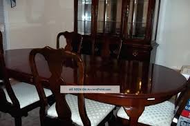 traditional dining room chairs cherry dining room table and 6 chairs sets used furniture p191119