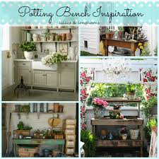 potting bench inspiration lilacs and longhornslilacs and longhorns