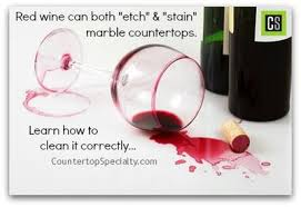 Remove Red Wine Stain From Upholstery Cleaning Marble Countertop Red Wine Stain