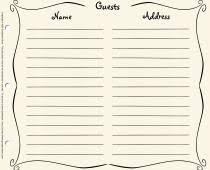 guest sign in book for funeral accessories pages guestbook store