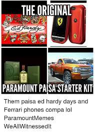 Ed Hardy Meme - the original rue paramount paisa starter kit them paisa ed hardy