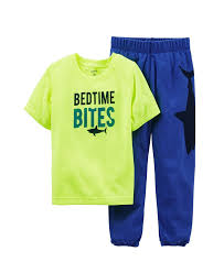 s boys 2 pant pj set toddler kid space