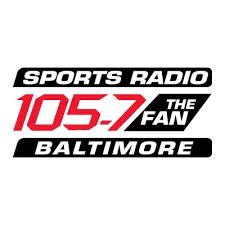 105 7 the fan baltimore 105 7 the fan 1057thefan twitter