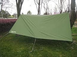 fortric 10ft x 10ft lightweight waterproof tent tarps hammock