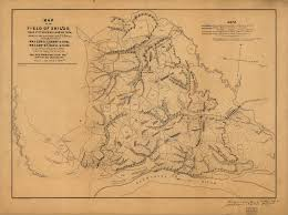 United States Civil War Map by The Civil War Home Page