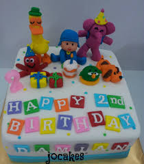 pocoyo halloween pocoyo and friends cake jocakes
