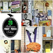 20 halloween front porch ideas mine for the making