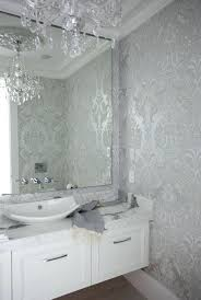 wallpaper borders bathroom ideas wallpaper ideas for bathroom the cross decor design bathrooms