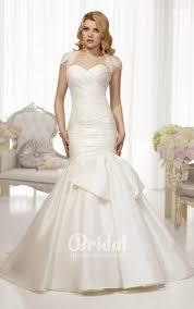 wedding dresses with bolero http theluckybridal com strapless mermaid satin