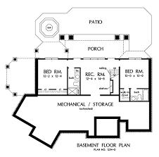 Mechanical Floor Plan Plan Of The Week The Silvergate 1254 D Houseplansblog