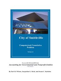 instructions smithville 1 debits and credits bonds finance