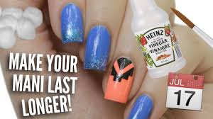 13 ways to make your manicure last longer youtube