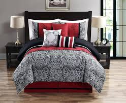Walmart Black And White Bedding Articles With Red Black And White Bedding Walmart Tag Cozy Black