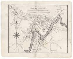 Map Of Towns In Massachusetts by First Separately Printed Map Of Ipswich Village Massachusetts