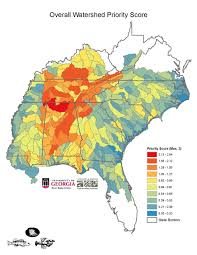 Georgia River Map Study Identifies The Southeast U0027s Most Diverse And Imperiled