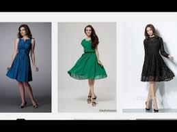 top 100 knee length dresses short party dresses for women youtube